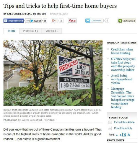 tips and tricks to help first-time home buyers
