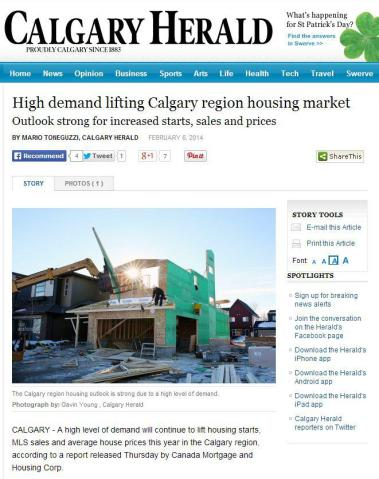 Demand Continues to Increase for Inner-city Calgary Homes for Sale